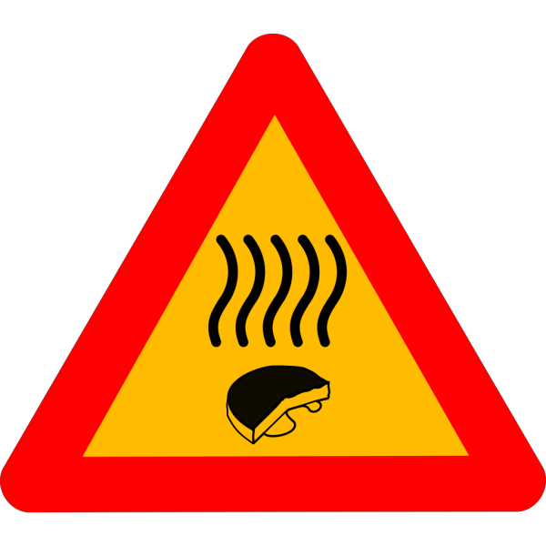 Warning Old Cheese PNG Clip art