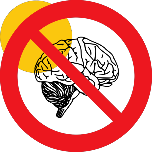 No Thinking PNG Clip art