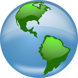 Glossy Globe PNG images