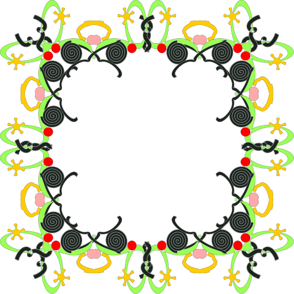 Abstract Picture Frame PNG Clip art