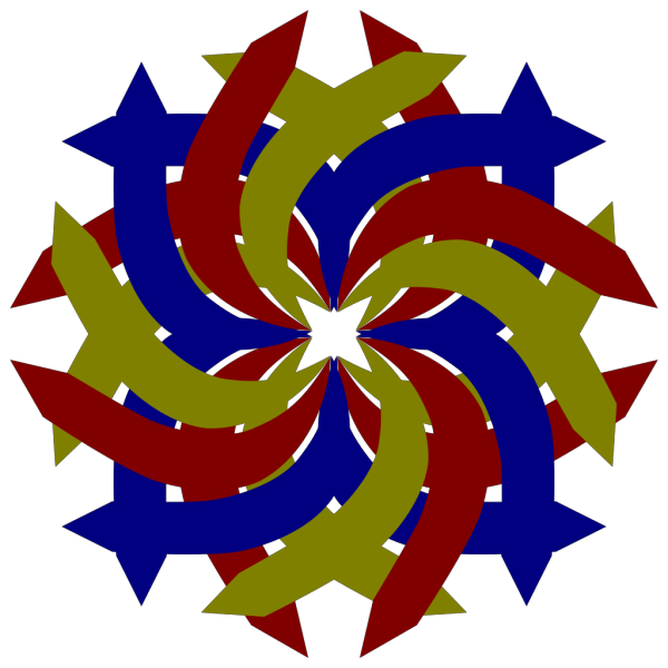 Double Swirl PNG Clip art