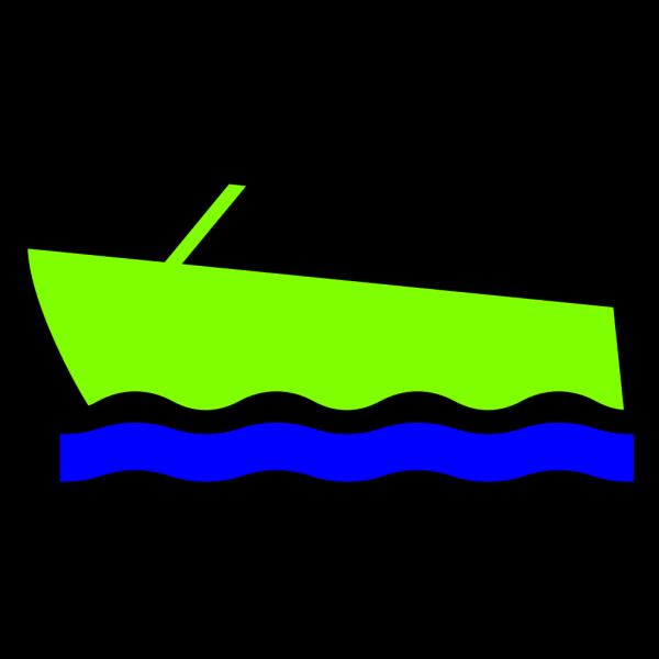Motorboat-color PNG Clip art