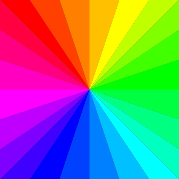 Rainbow Square PNG Clip art
