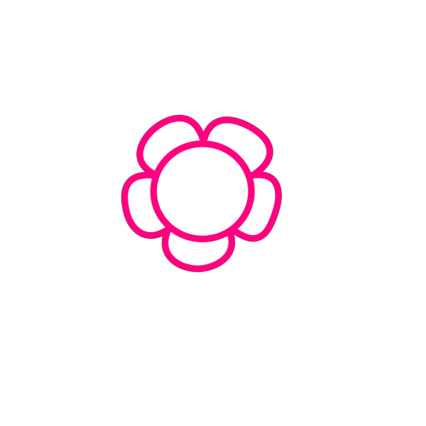 Simple Flower PNG icon