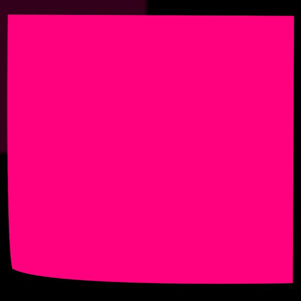 Pink Sticky PNG Clip art