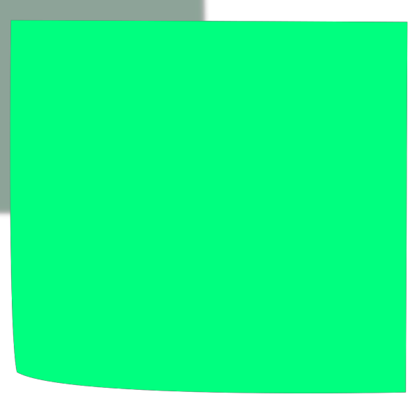 Green Sticky PNG Clip art
