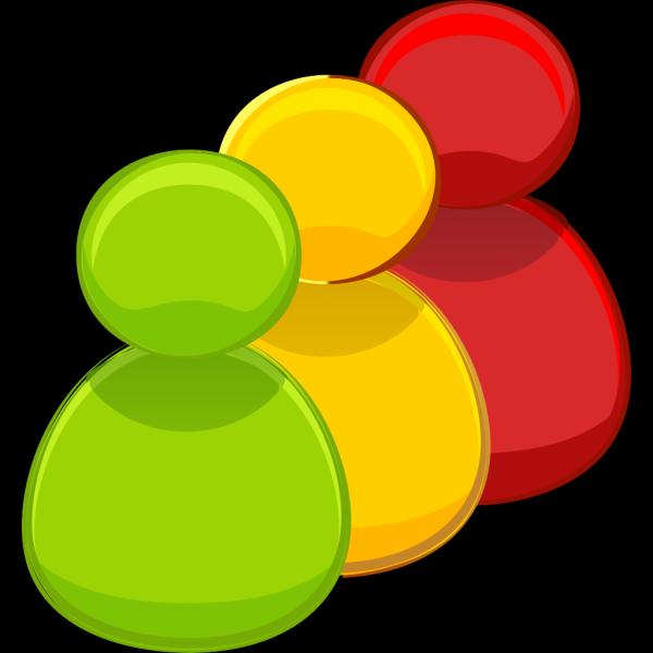 3 Colors PNG Clip art