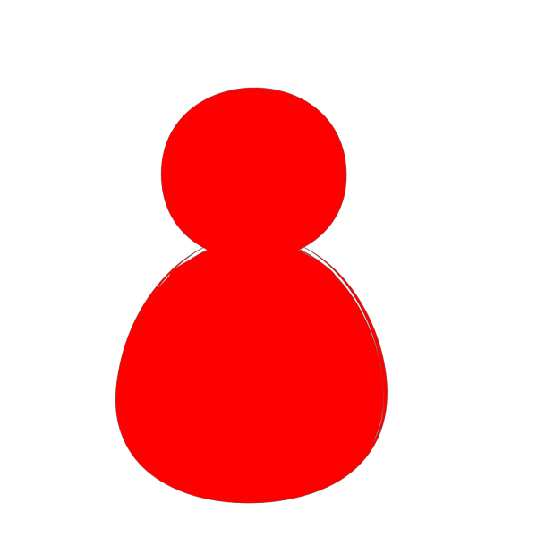 Red Alone PNG Clip art