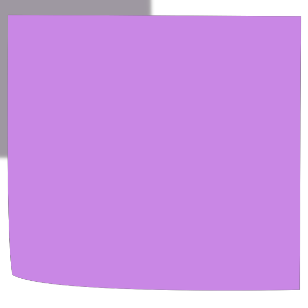 Sticky Violet PNG Clip art