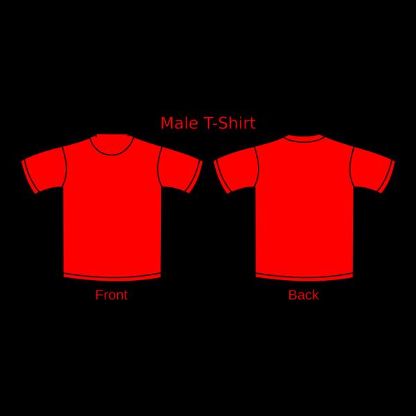 Red T-shirt PNG Clip art