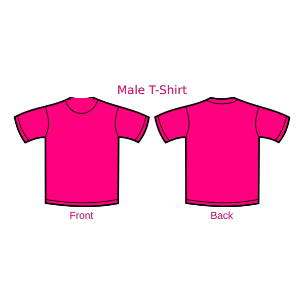 Pink T-shirt PNG Clip art