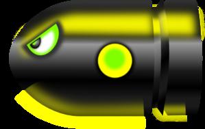 Alien Bullet PNG Clip art