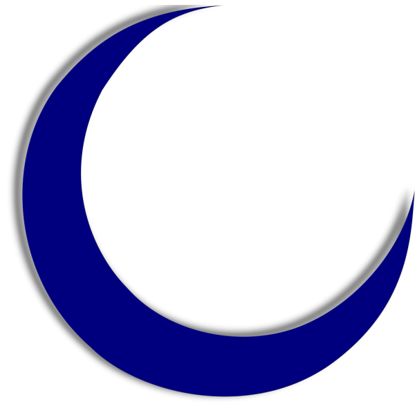 Crescent Moon PNG icons