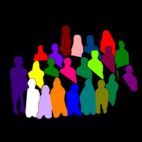 Diverse Group PNG Clip art
