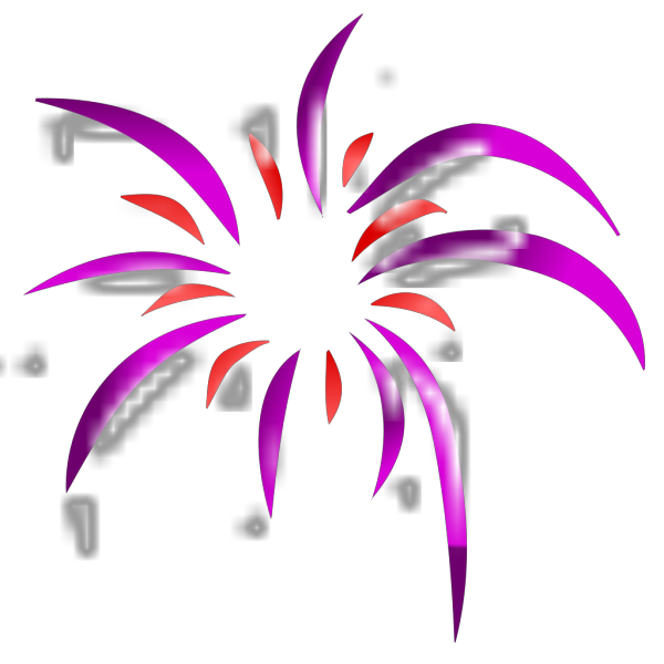 Firework 2 Colors PNG icons