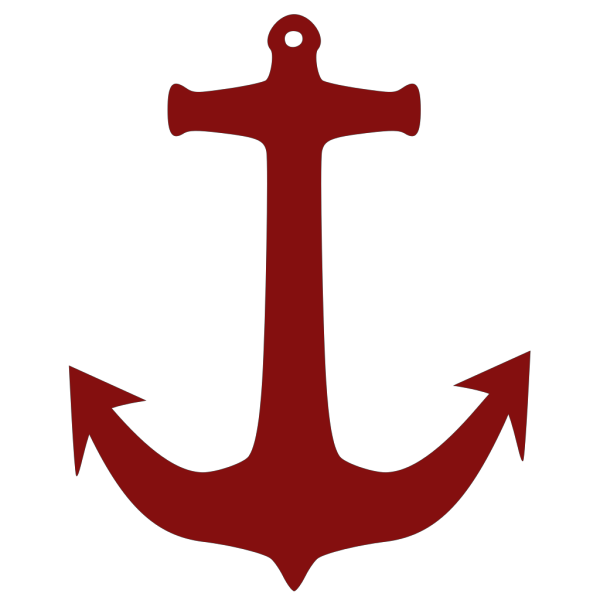 Red Anchor PNG Clip art