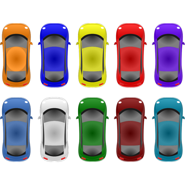 Little Cars PNG Clip art
