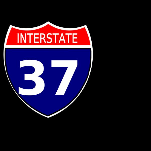 I-37 Sign PNG Clip art