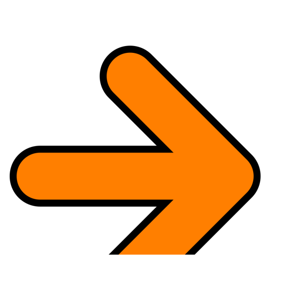 Orange Arrow PNG Clip art