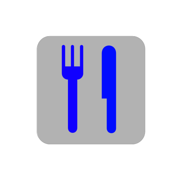 Green And Yellow Knife And Fork PNG Clip art