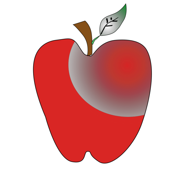 Crimson Apple PNG Clip art