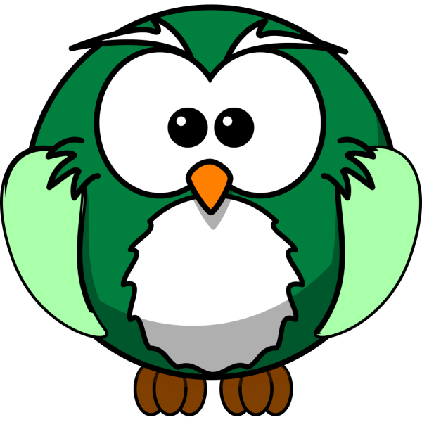 Funky Owl PNG Clip art