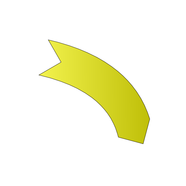 Yellow Arrows PNG Clip art