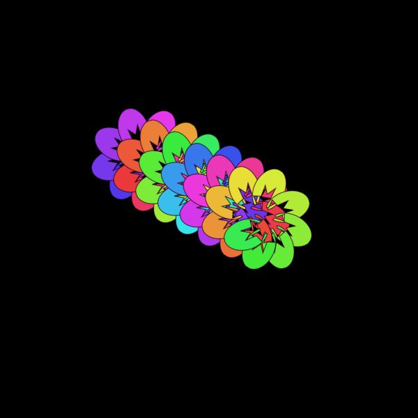 Rainbow Stars PNG Clip art