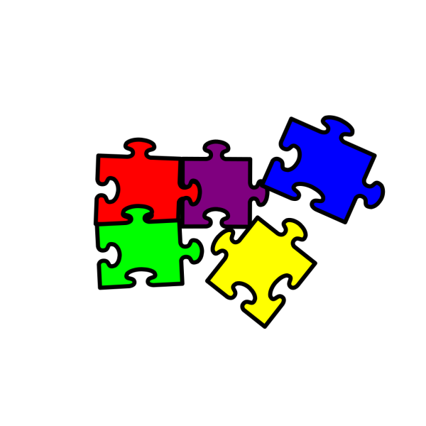 Autism Putting One Piece Of The Puzzle Together At A Time PNG Clip art