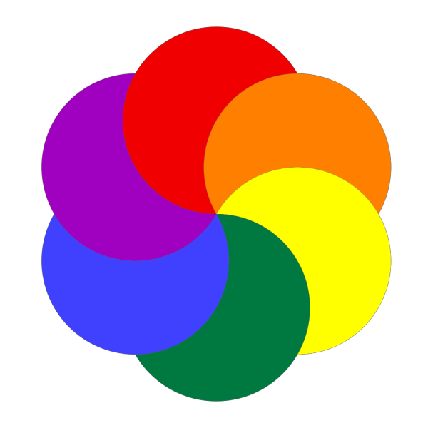Rainbow Of Colors PNG Clip art
