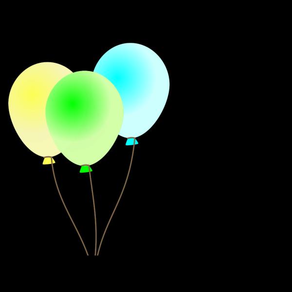 Emmas Colored Balloons PNG Clip art