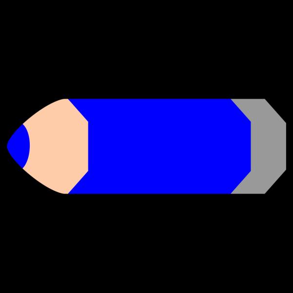 Blue Pencil PNG Clip art