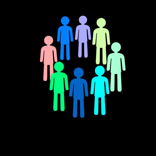 Population Better Color PNG Clip art