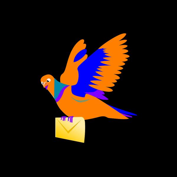 Email Message Bird PNG Clip art