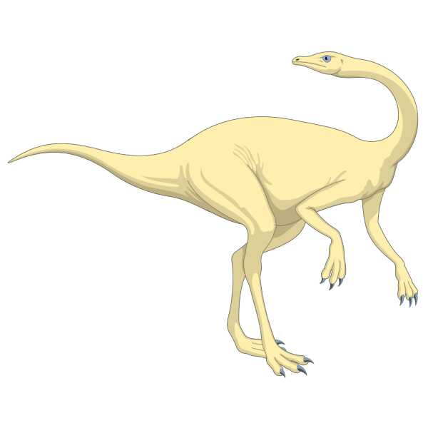 Cream Colored Dinosaur PNG Clip art