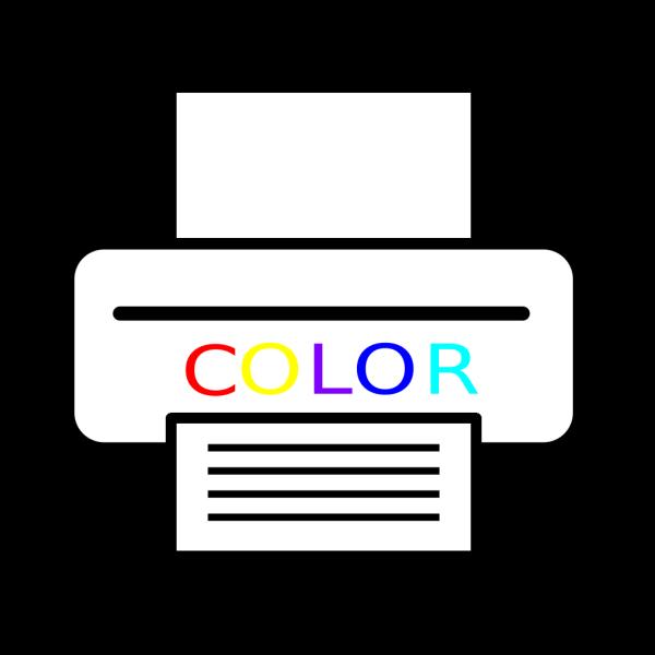 Color Printer PNG Clip art