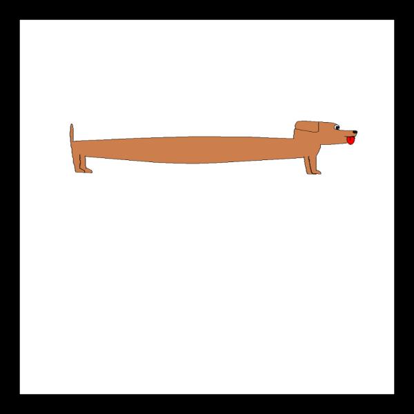 Long Sausage Dog PNG images