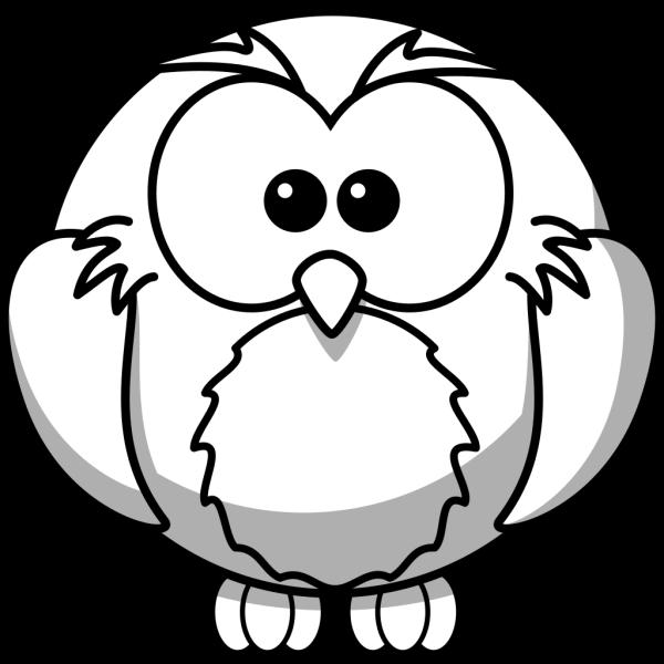 Owl White PNG Clip art