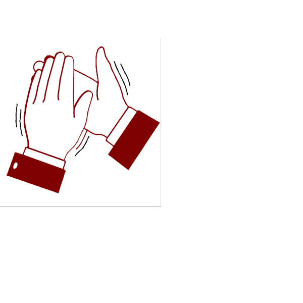 Clapping Hands Color PNG Clip art