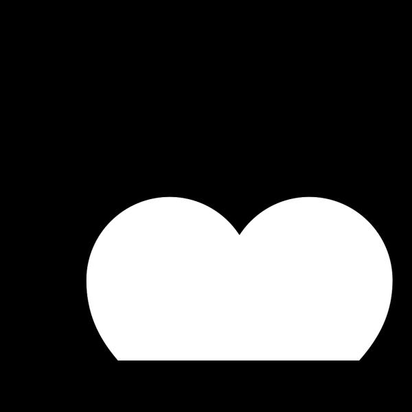 White Heart PNG Clip art