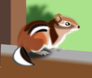 Cute Chipmunk PNG Clip art