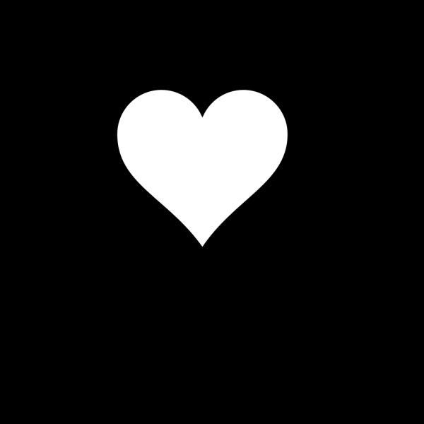 Blank Heart PNG Clip art
