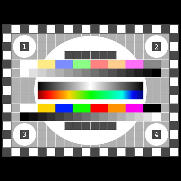 Tv Color Test PNG Clip art