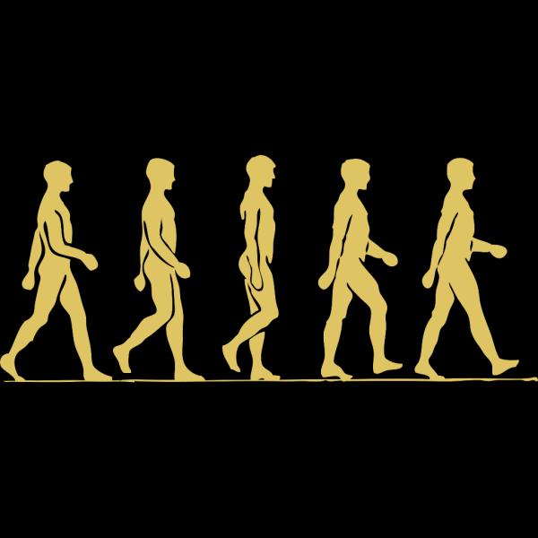 Walking Strides PNG Clip art