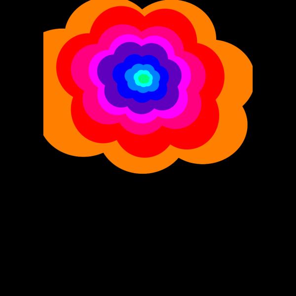 Rainbow Cloud PNG Clip art