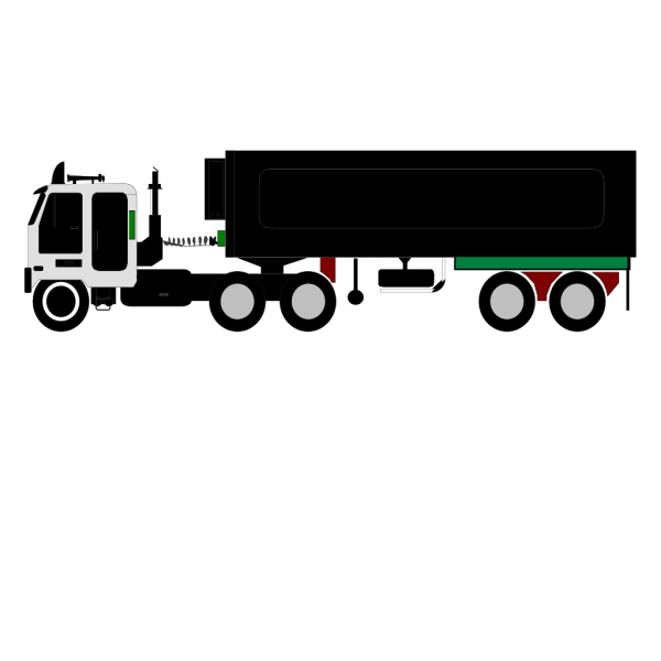 Color Truck PNG Clip art