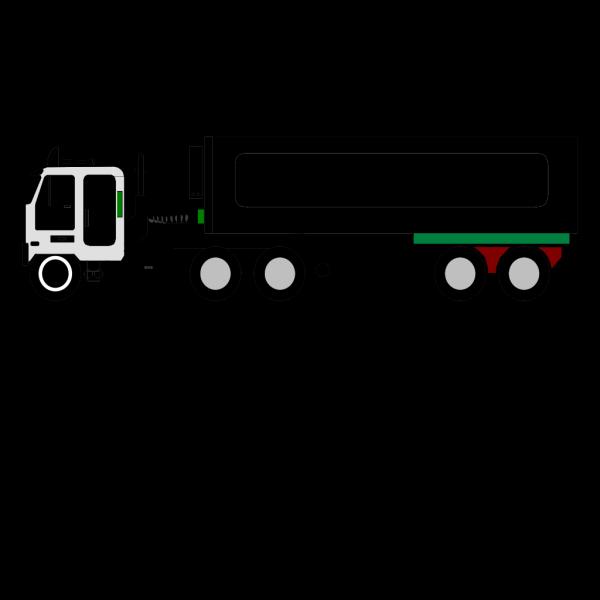 Color Truck Big PNG Clip art