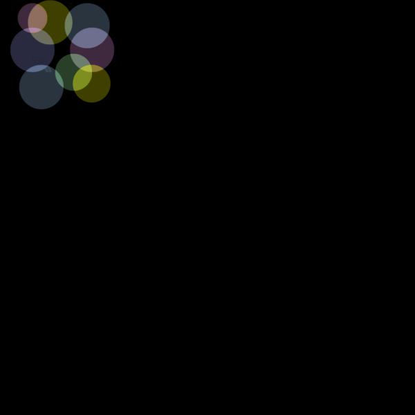 Pastel Colored Bubbles PNG Clip art