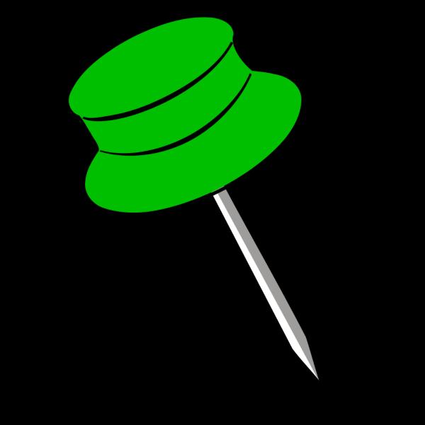 Pin Green PNG Clip art
