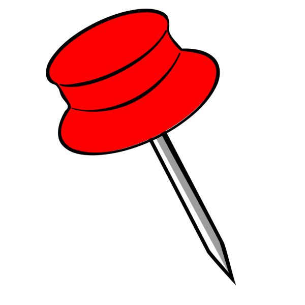 Pin Red PNG Clip art